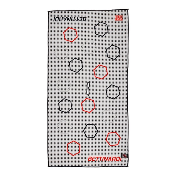 Bettinardi Dancing Open Hex Players (Red/Black) - Towel