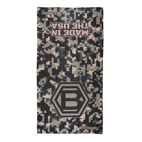Bettinardi Hex B Digital Camo USA Players (Green) - Towel